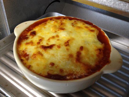 011.トマトグラタンをオーブンで焼く2