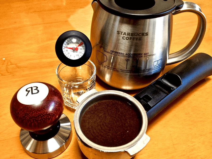 [0004] スタバエスプレッソキットを使って黒糖ラテを作ってみる