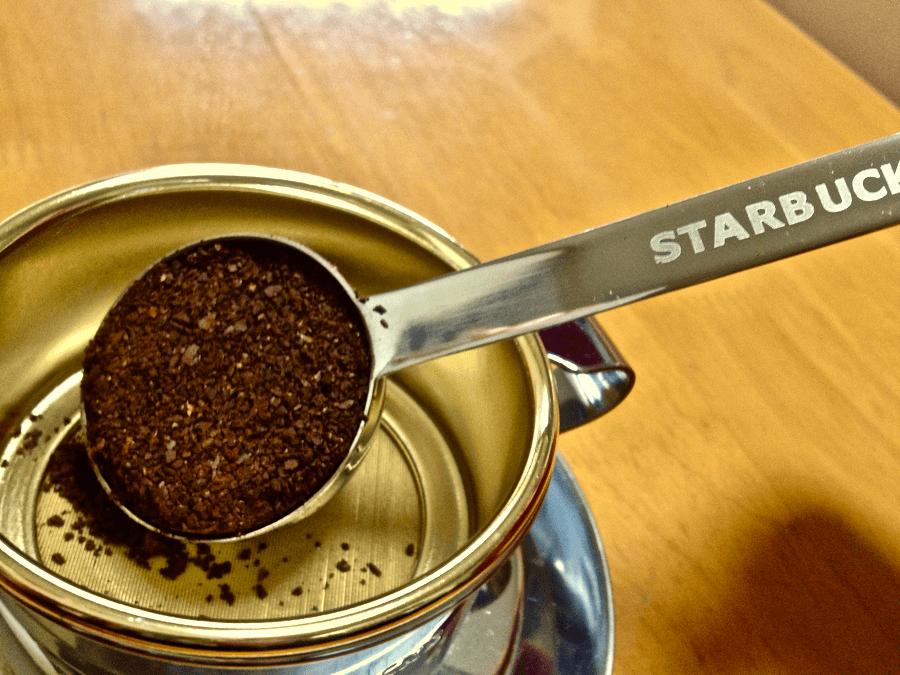 [0015] スタバ ステンレスドリッパー  美味しい珈琲をいれる その3 (ハワイコナ)