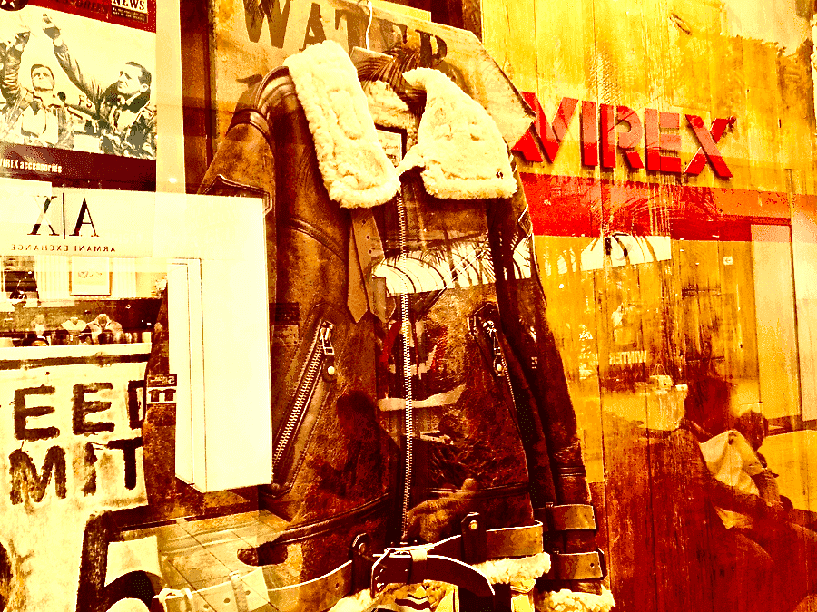 [0027] AVIREX アヴィレックス BELTTED MOUTON ジャケット 2012冬