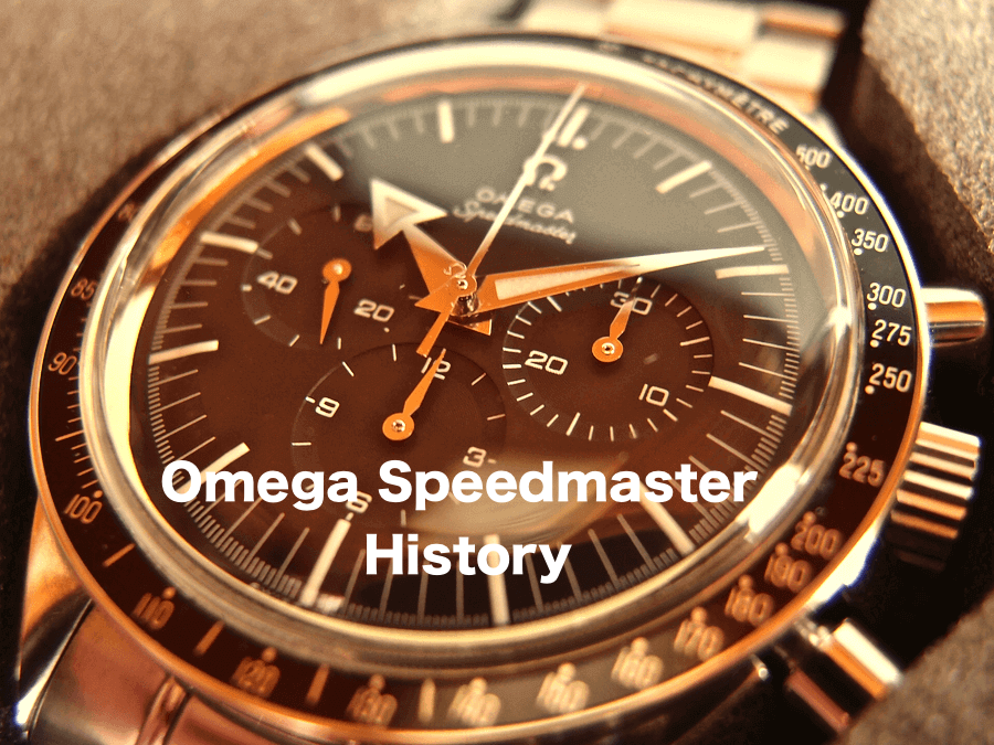 Omega Speedmaster History