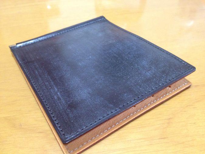 [0034] Ganzoの財布 その2 大事にするぞ! THIN BRIDLE マネークリップ 新品