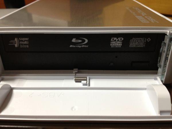 2.BRD-3DU8』のドライブ確認