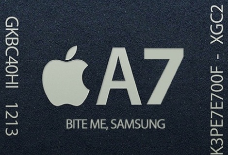 3.iPhone5s A7チップ