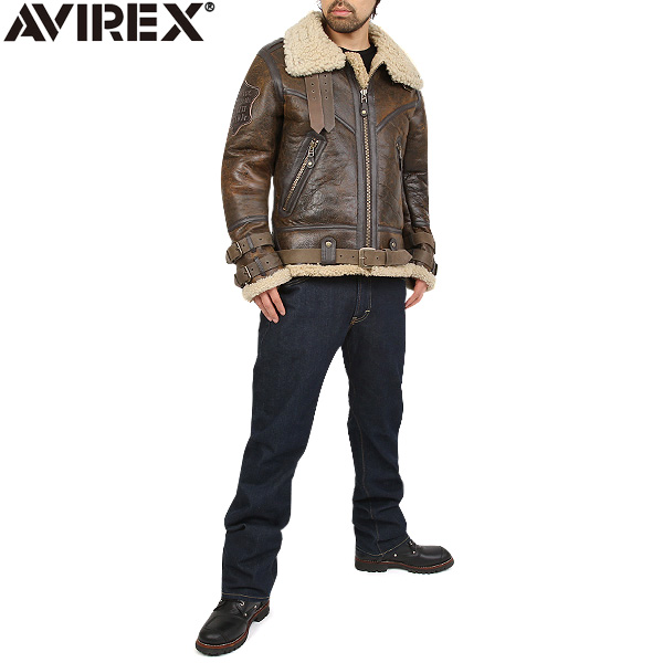 5.AVIREX BELTTED MOUTON