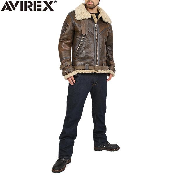 5.AVIREX BELTTED MOUTON