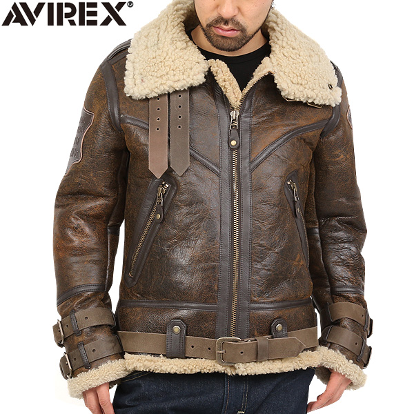 6.AVIREX BELTTED MOUTON