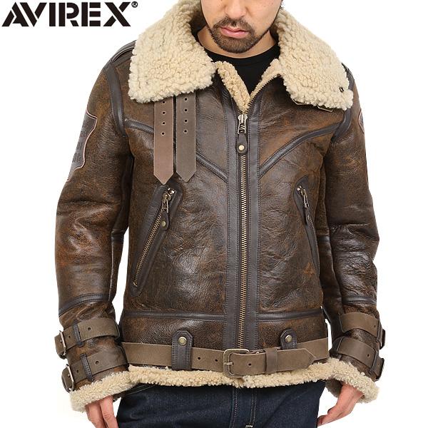 6.AVIREX BELTTED MOUTON