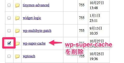 8wp-super-cacheフォルダを削除-6