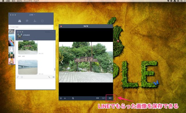 09LINE画像取り込み