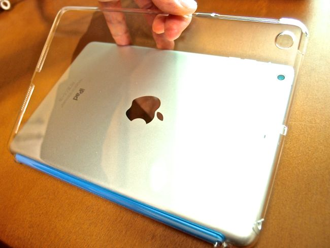[0107] フィット感抜群!! iPad mini Retinaのケースもパワーサポート エアジャケット『PIM-81』で決まり!!