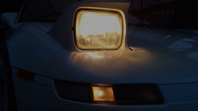 06 MR2 リトラクタブルライト