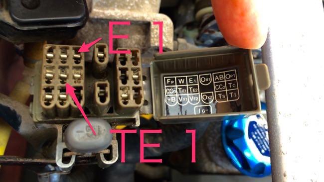 04 MR2(SW20)ダイアグBOX TE1_E1