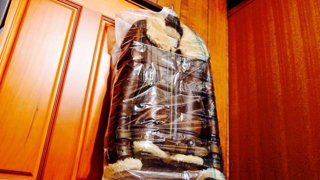 09-フライトジャケット-B3-保管-ムシューダ防虫カバー