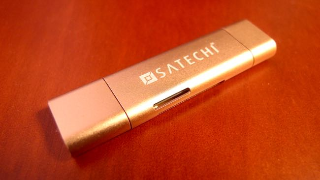 05 SATECHI Type C plus USB3 0 USB Card Reader