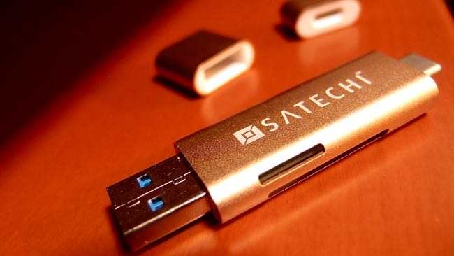 06 SATECHI Type C plus USB3 0 USB Card Reader