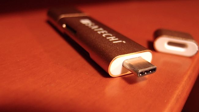 07 SATECHI Type C plus USB3 0 USB Card Reader