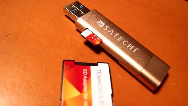 09 SATECHI Type C plus USB3 0 USB Card Reader