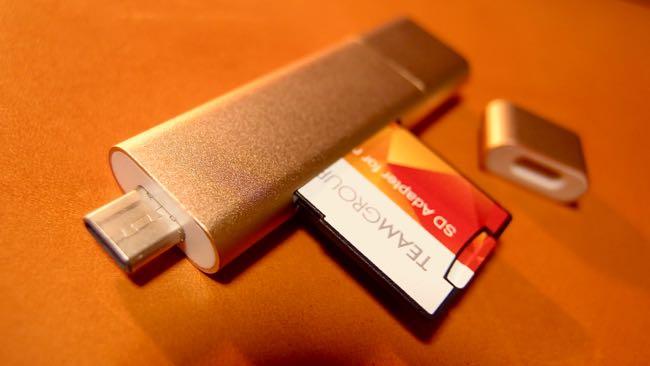 10 SATECHI Type C plus USB3 0 USB Card Reader