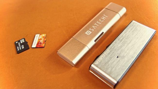 16 SATECHI Type C plus USB3 0 USB Card Reader