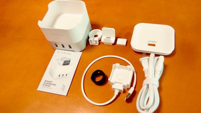 05 Satechi Smart charging station