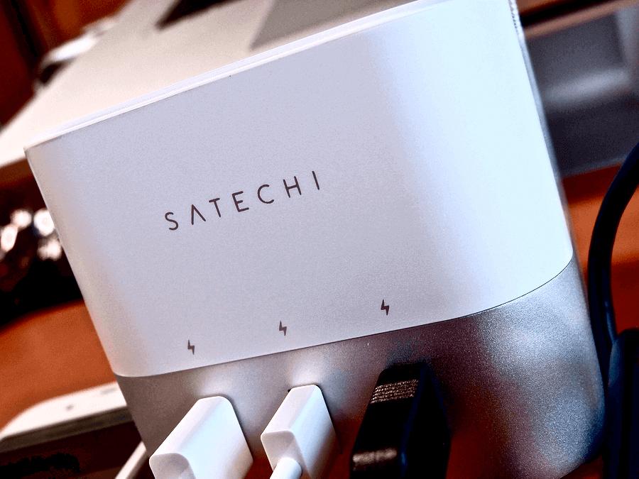 [0170] 一度に4台充電できる お洒落なSatechi スマート充電スタンド をレビュー!!