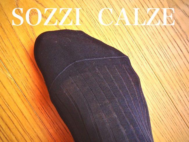 [0173] イタリアン・クラシック・ソックスの代表ソッツイ(Sozzi) のホーズを試してみる