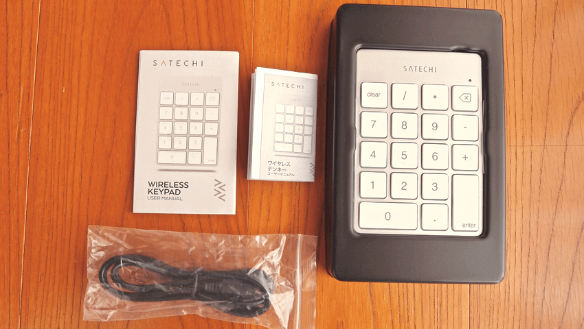 02 Satechi premum Aluminum Wireless Keypad Silver