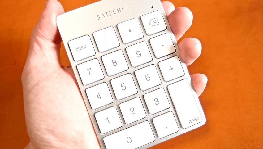 03 Satechi premum Aluminum Wireless Keypad Silver