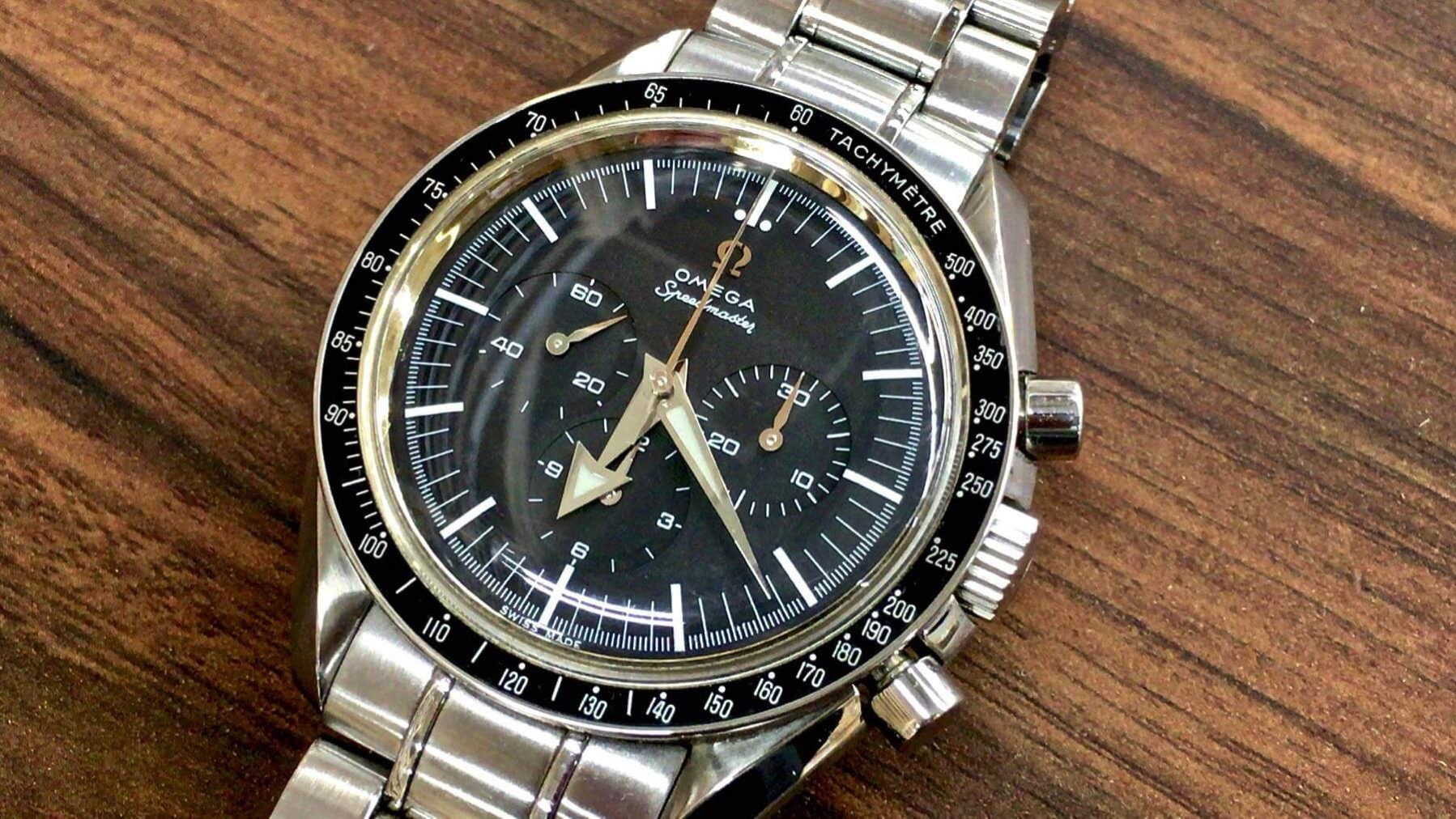 05 OMEGA Speedmaster First Replica Leon Custom