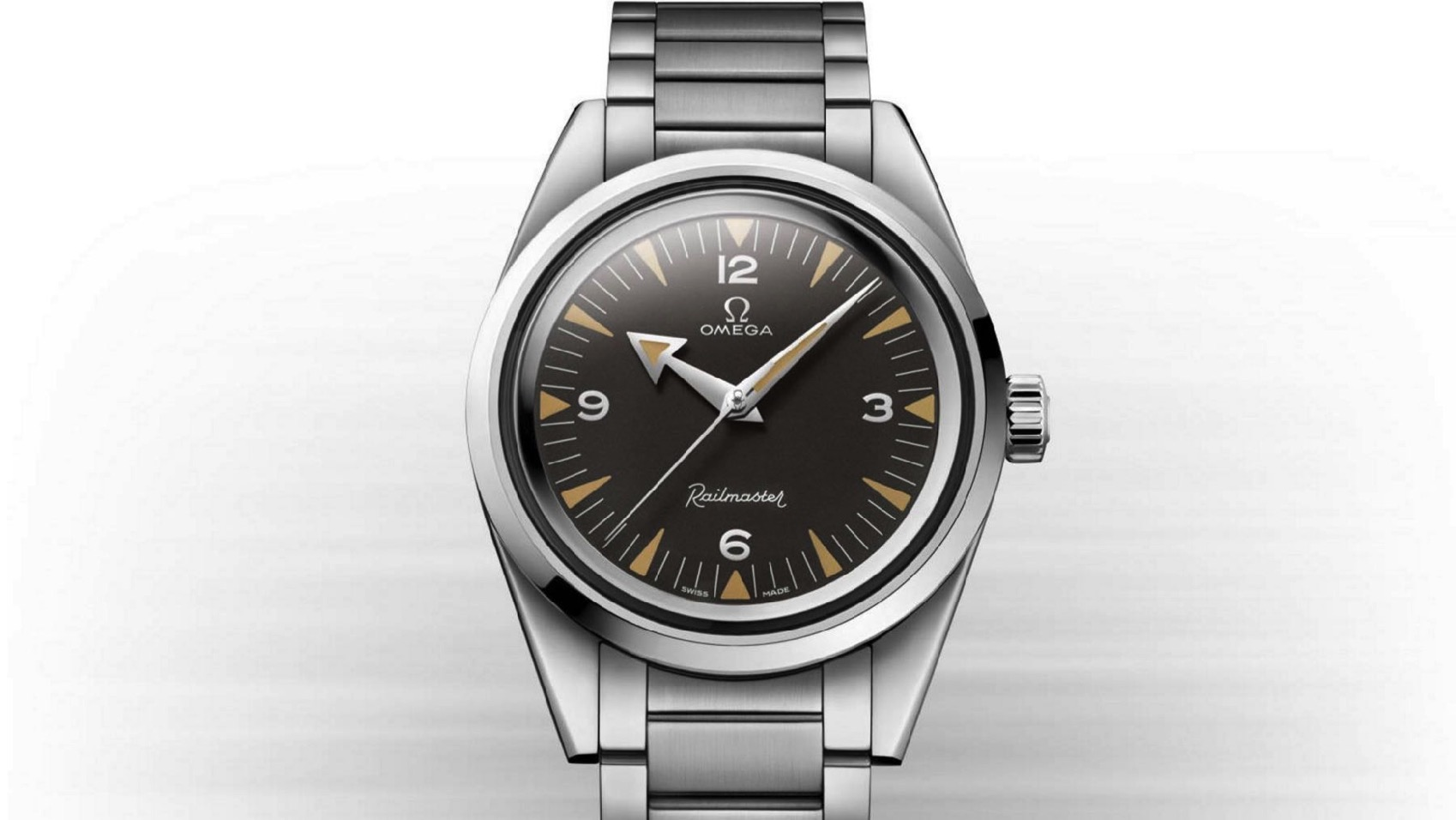01 OMEGA 1957 Trilogy Limit Edition Railmaster