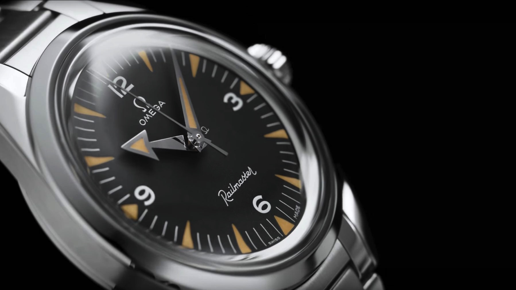 02 OMEGA 1957 Trilogy Limit Edition Railmaster