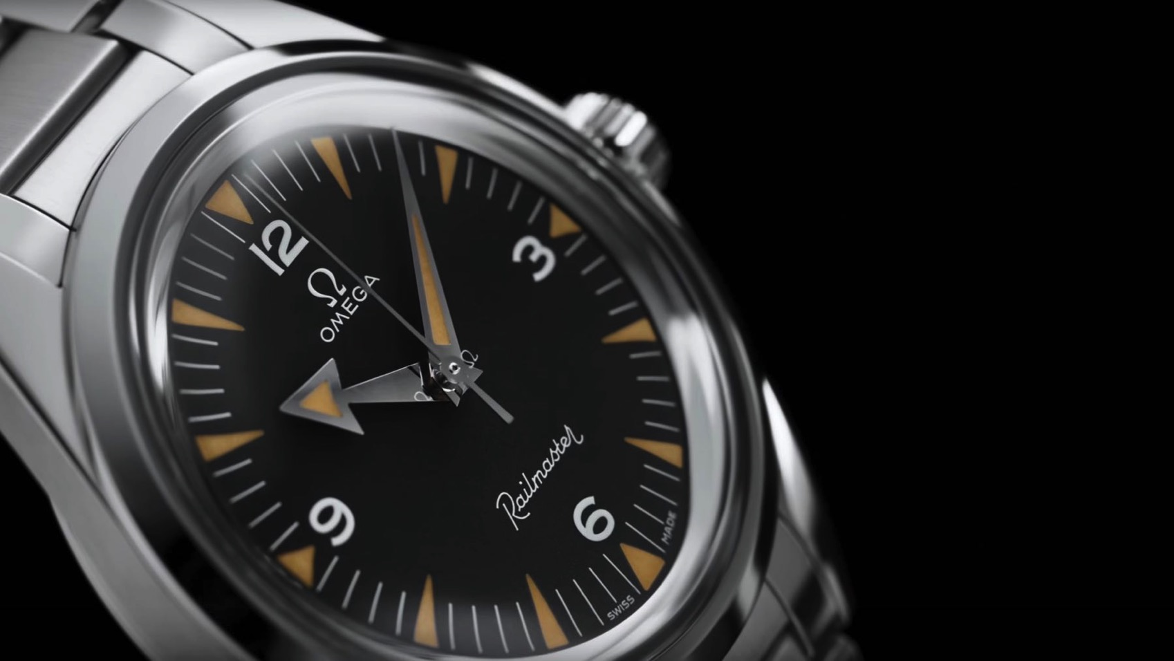 07 OMEGA 1957 Trilogy Limit Edition Railmaster