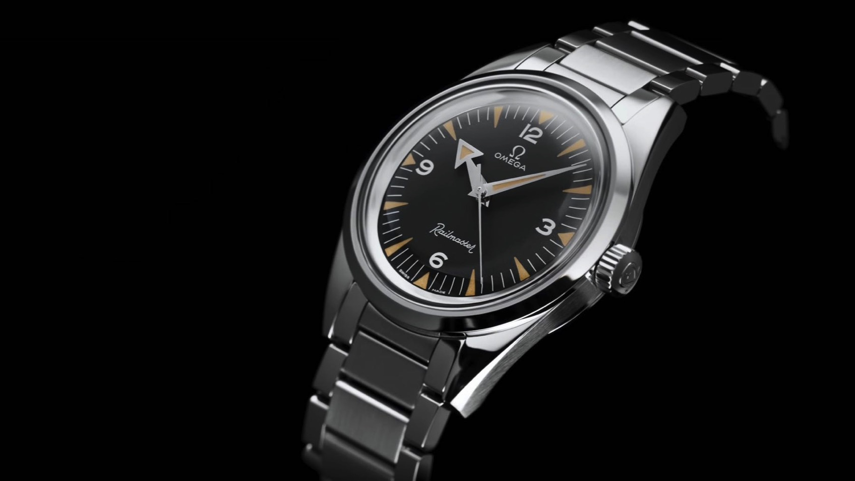 08 OMEGA 1957 Trilogy Limit Edition Railmaster