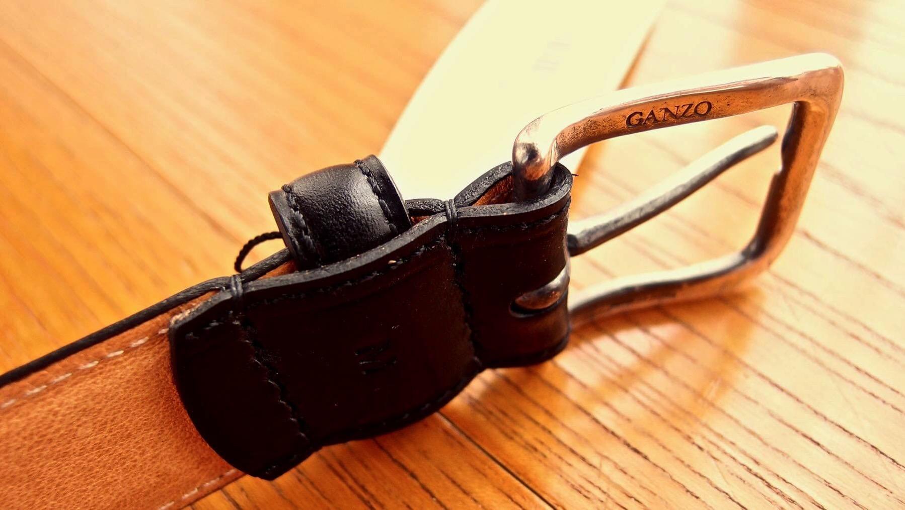 10 Ganzo leather belt BRIDLE
