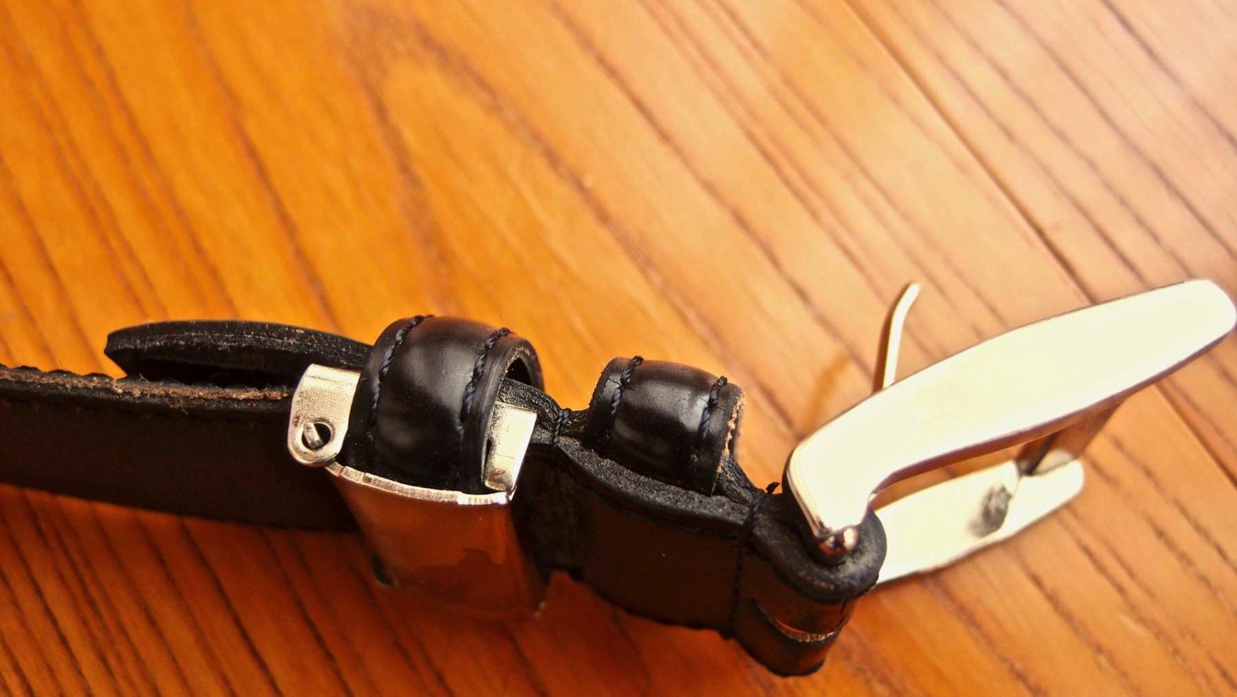 11 REGAL leather belt