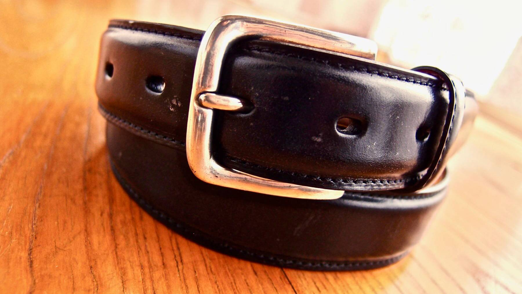 20 Ganzo leather belt BRIDLE