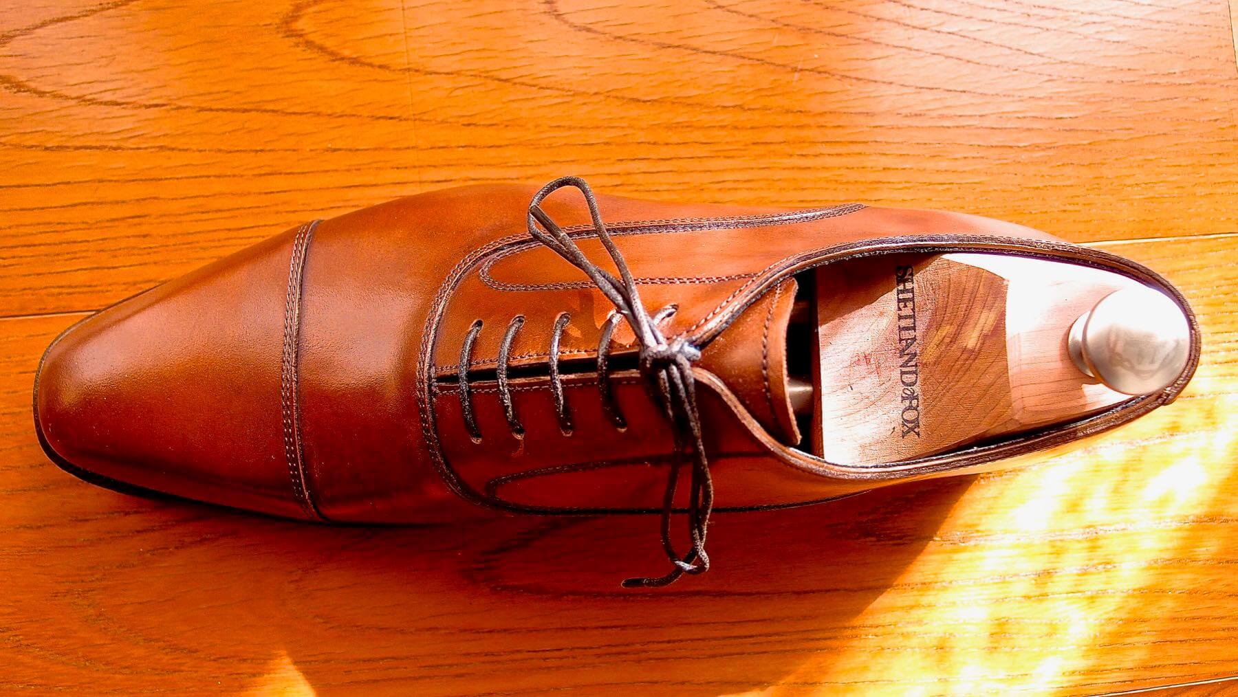 01 Shetlandfox Shoe keeper
