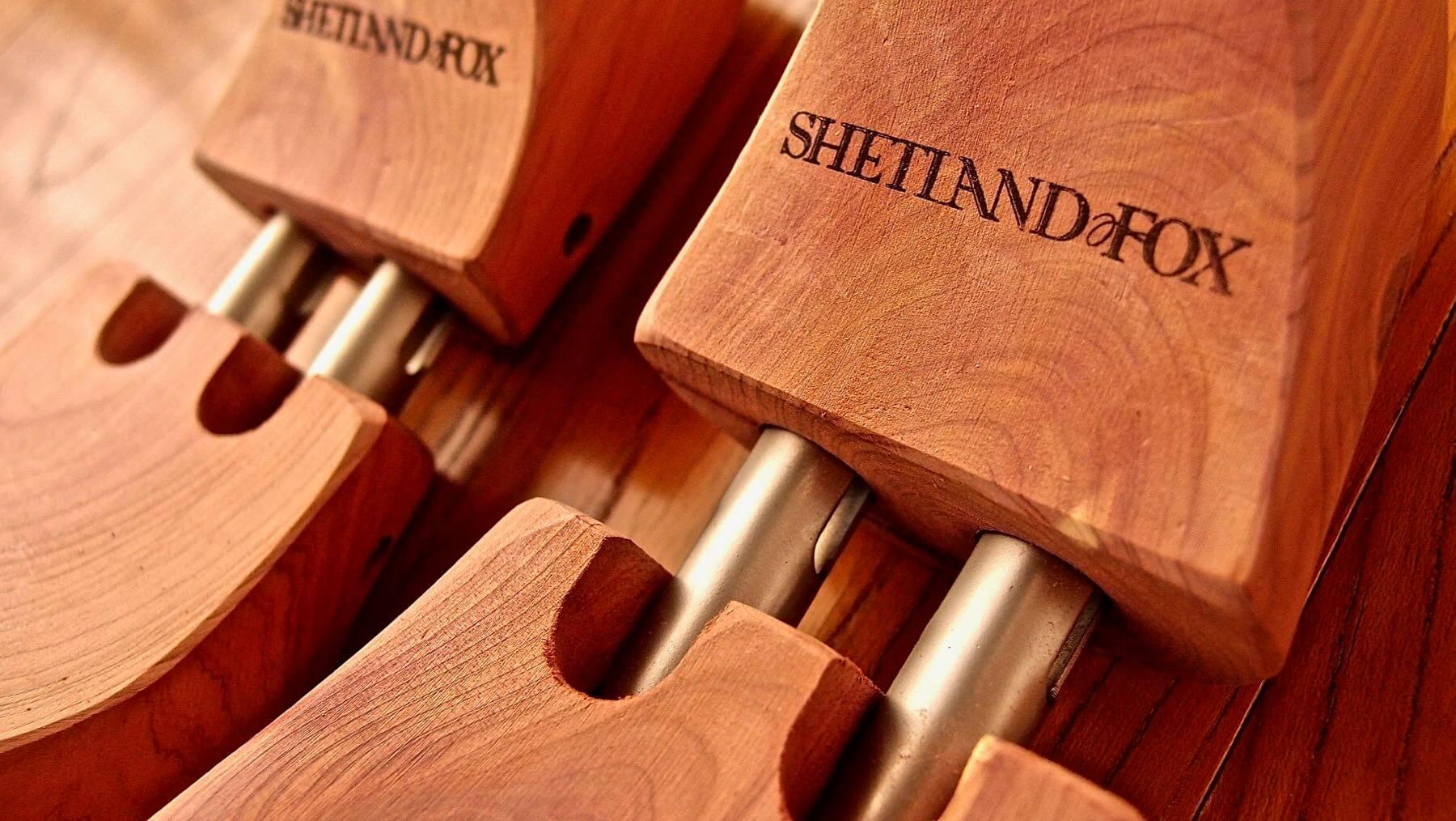 05 Shetlandfox Shoe keeper