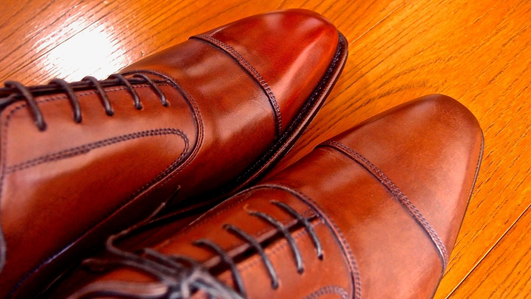 13  Shetlandfox Glasgow Leather shoes care