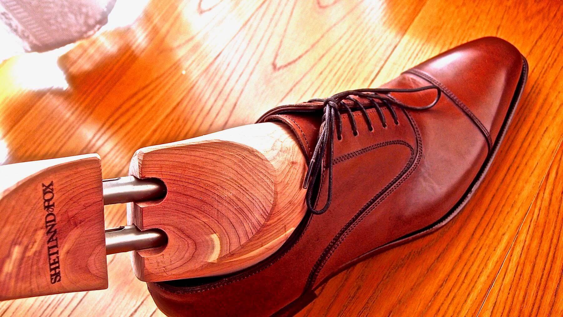 21 Shetlandfox Shoe keeper