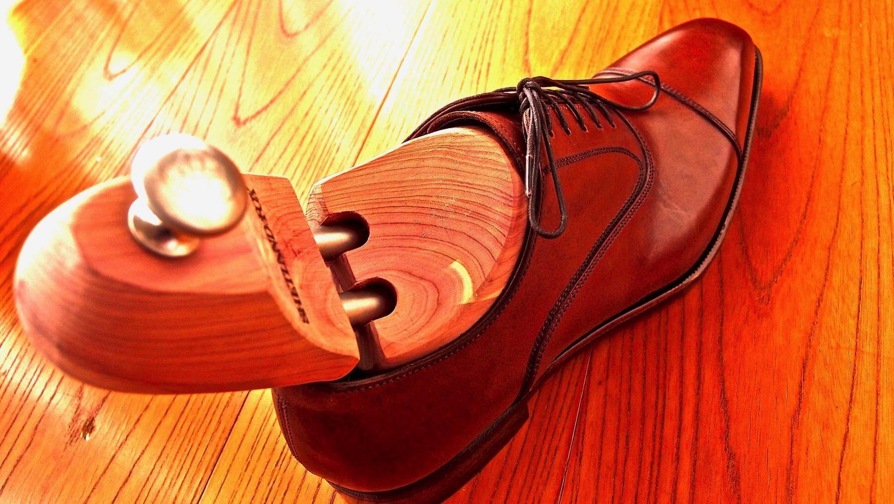 22 Shetlandfox Shoe keeper