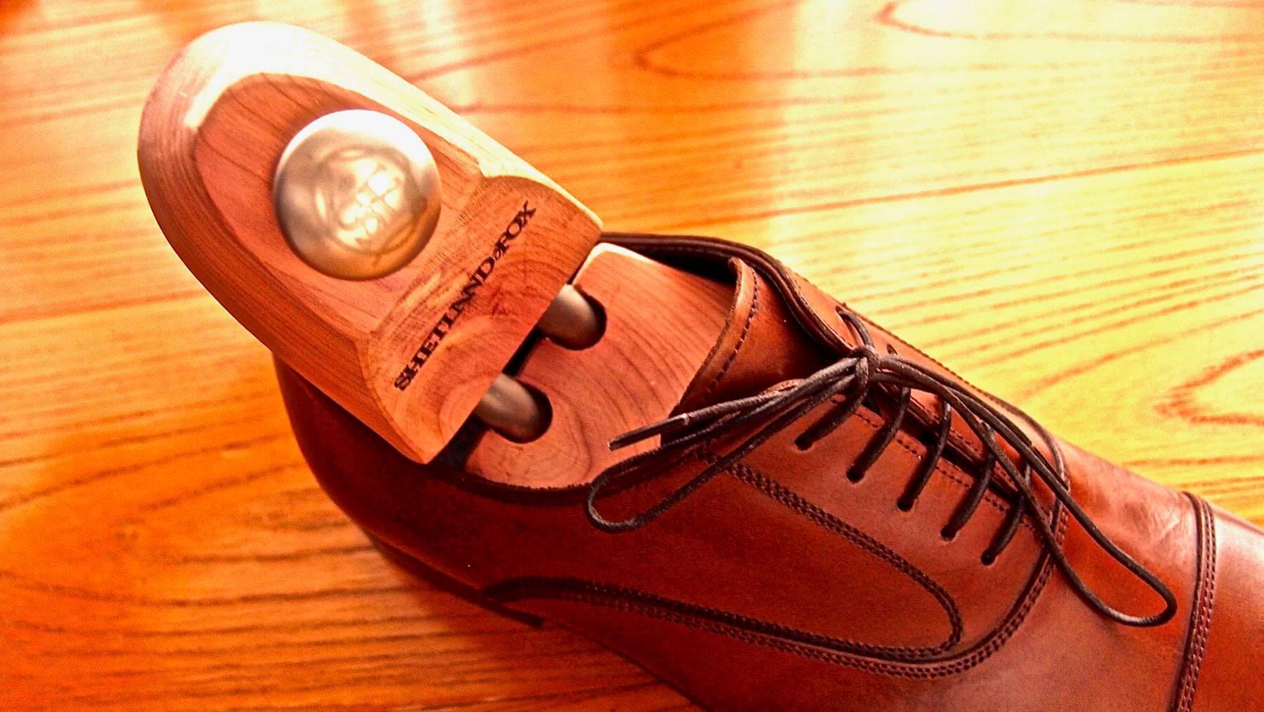 23 Shetlandfox Shoe keeper