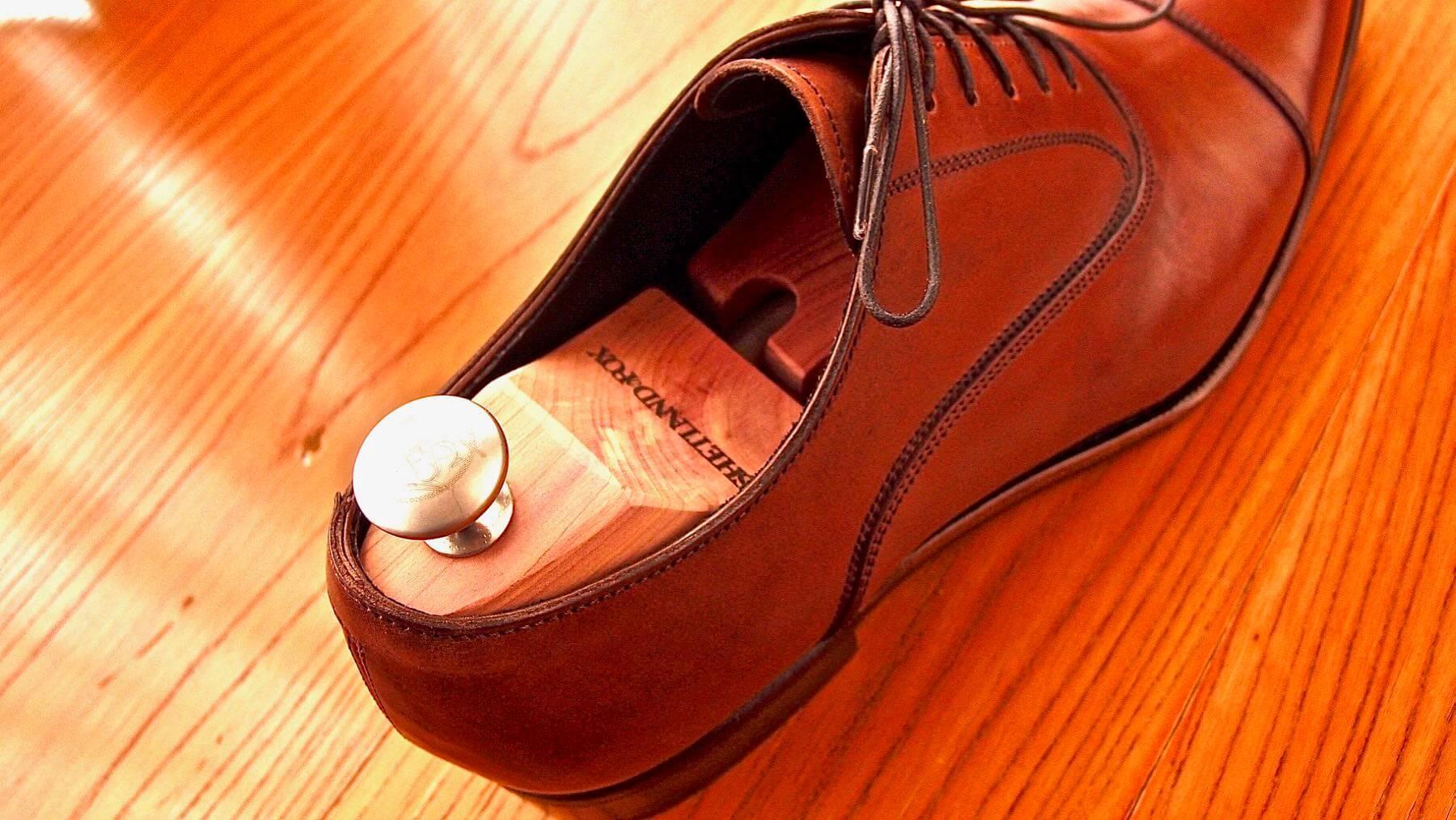 25 Shetlandfox Shoe keeper