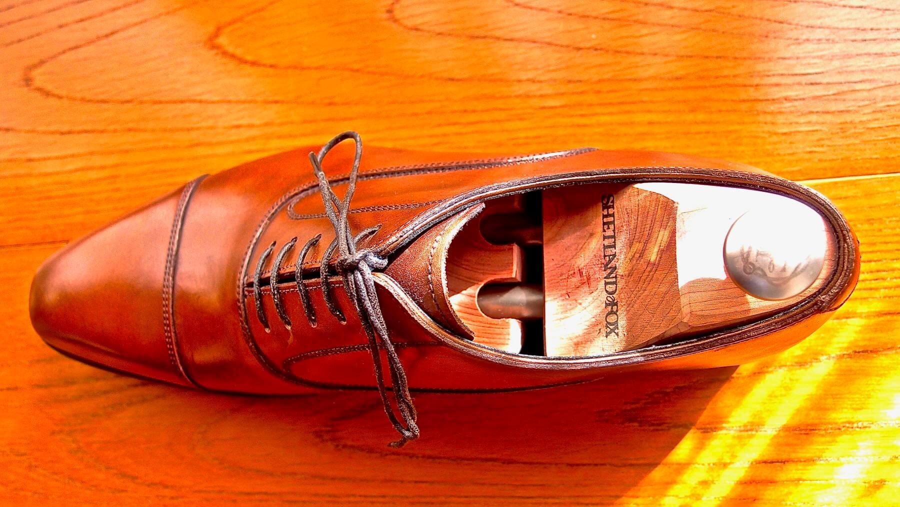 26 Shetlandfox Shoe keeper