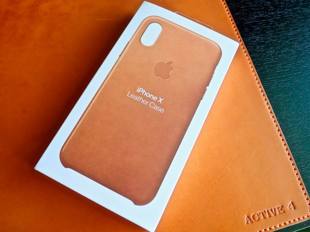 [0191] iPhone X用 Apple純正レザーケースを徹底レビュー!!  装着感がハンパなく凄い!!