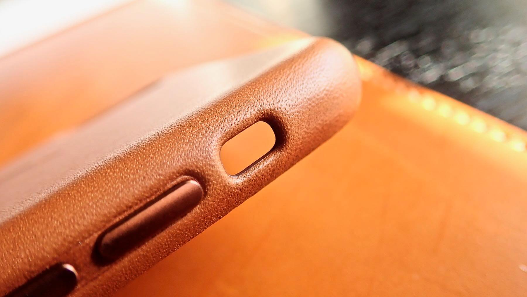 0191 iPhone X Apple Leather Case Saddle Brown Review 11