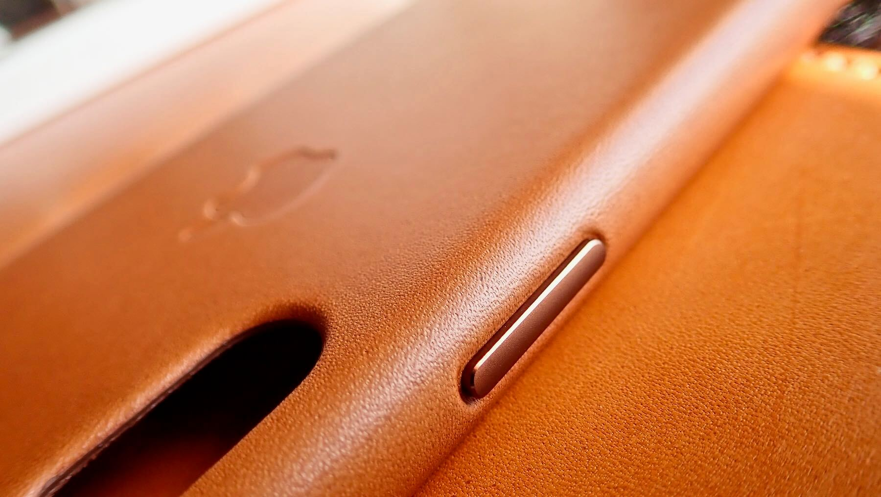 0191 iPhone X Apple Leather Case Saddle Brown Review 13