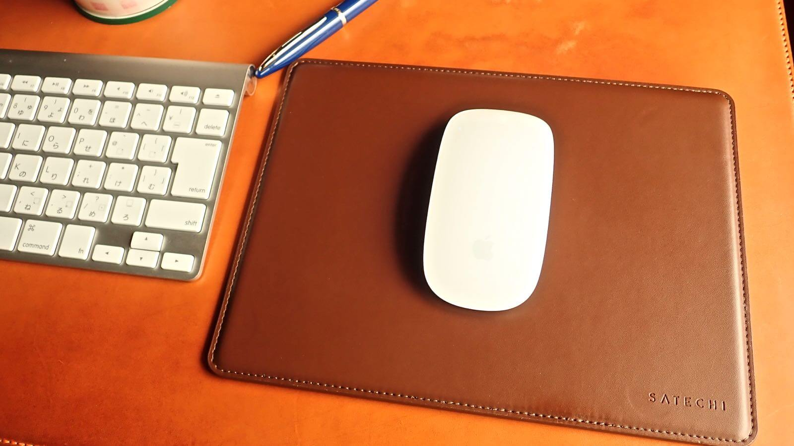 0196 Satechi Mouse pad Aluminum EcoLeather 13