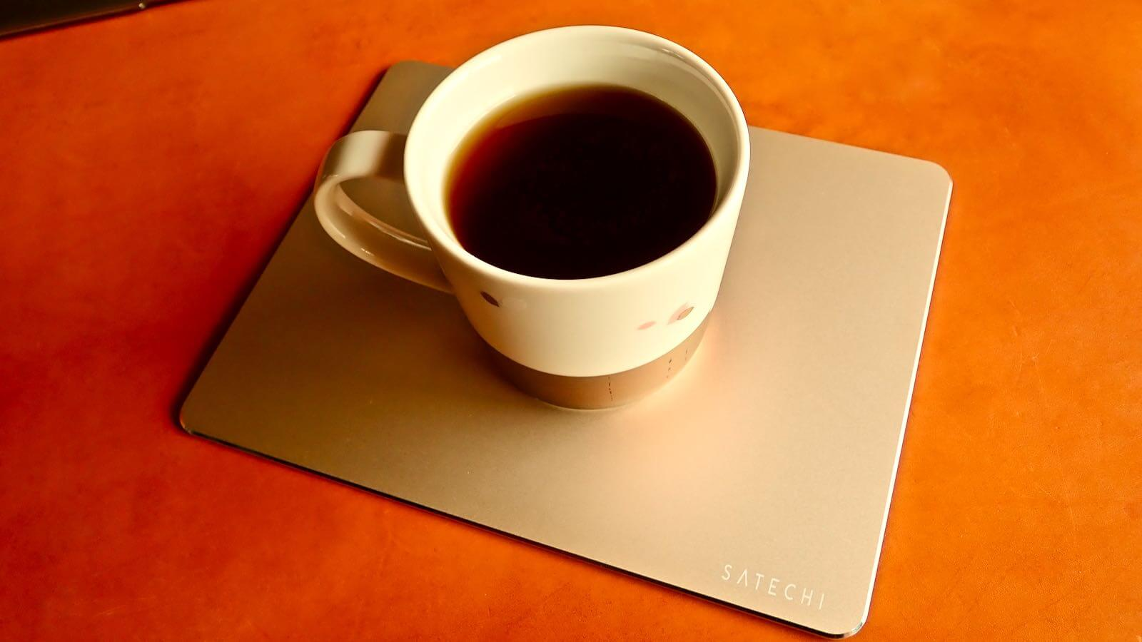 0196 Satechi Mouse pad Aluminum EcoLeather 15